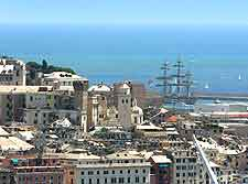 Picture of the cityscape and Tall Ships Festival