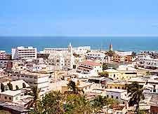 Image of the scenic Cape Coast