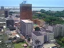 Cote d'Ivoire view, showing Le Plateau at Abidjan