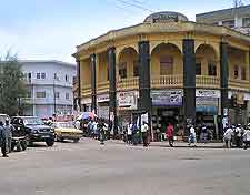 Kumasi city centre photo