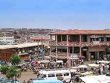 Downtown picture of Kumasi