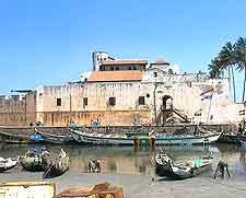 Photograph of the Elmina Castle