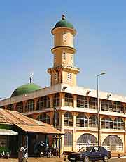 Picture of mosque at Tamale