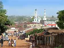 Picture of mosque in Togo's popular city of Sokode