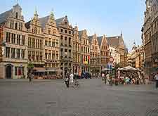 Photo of central Antwerp