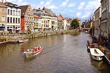 Sightseeing cruise in Ghent