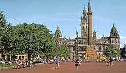 Photo of George Square, Glasgow, Scotland