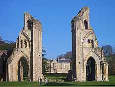 Abbey photo, showing the ancient remains