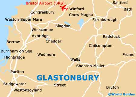 Small Glastonbury Map