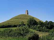 Image of the world-famous Glastonbury Tor