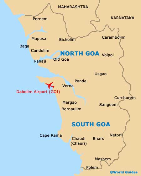 Small Goa Map