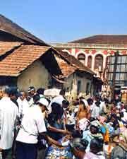 Photo of local market