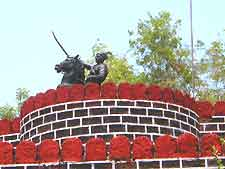 Goa Shivaji monument image