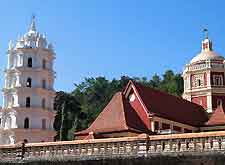 Photo of the Sri Manguesh Temple
