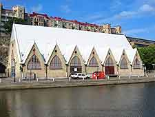 Picture of the waterfront 'Fish Church'