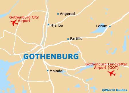 Small Gothenburg Map