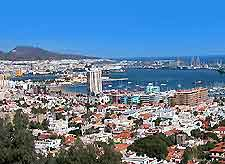 Aerial picture of Gran Canaria (Canary Islands, Spain)