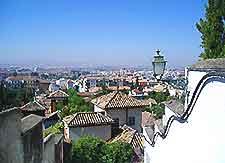 Rooftop picture of Granada, Spain