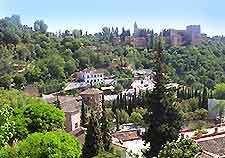 Aerial picture of Granada