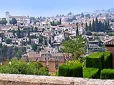 Cityscape photo of Granada, Spain