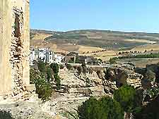 Photo of Granada's Albayzin Walls ruins