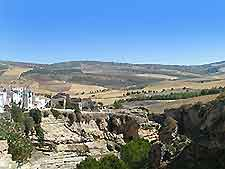 View over Alhama de Granada