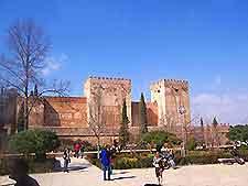 Photograph of Granada's La Alhambra
