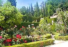 Image of Alhambra's Generalife Gardens, Granada