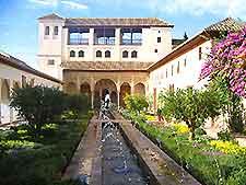 Granada's Generalife Gardens photo