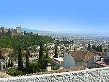 Scenic scape of Granada