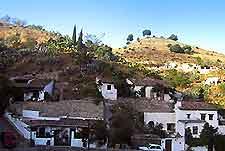 Picture of the El Sacromonte district of Granada