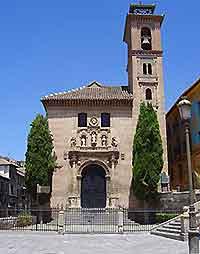 Photo of Santa Ana Church in Granada, Spain
