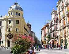 Shopping streets of Granada photo