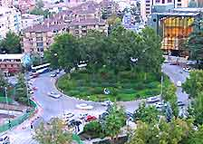 Image of a roundabout in Granada
