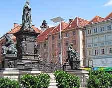 View of the Hauptplatz (Main Square)