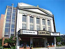 Photograph of the historic Carolina Theater