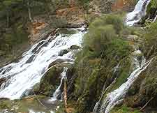 Picture of the Cascada de las Tres Caidas (Three Waterfalls)