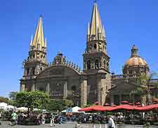 Photo of Guadalajara's magnificent cathedral