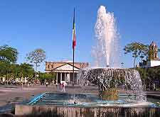 Picture of fountains in the Centro Historico