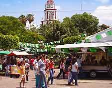 Photo taken in the Tlaquepaque district