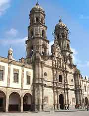 Guadalajara landmarks and monuments guadalajara jalisco mexico further picture of the basilica de zapopan sciox Gallery