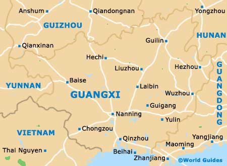 Guangxi Map