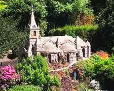 Picturesque view of the Guernsey's Little Chapel