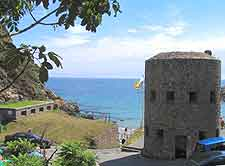 Image of a Guersey's Martello Tower