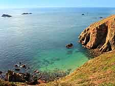 Guernsey Photo Gallery: View of Alderney, which is another nearby island