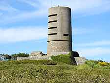 Image of the island's Pleinmont Tower