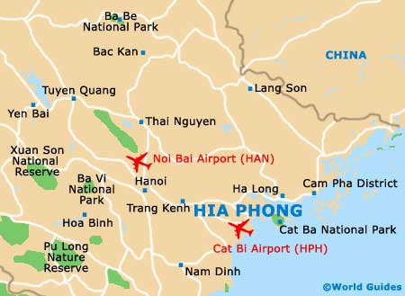 Haiphong Vietnam Map.Hai Phong Maps And Orientation Hai Phong Red River Delta Vietnam