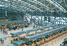 Hamburg Airport (HAM) Travel and Transport: Interior image of terminal at the airport itself