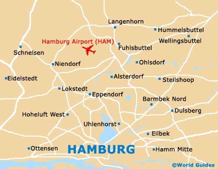 Small Hamburg Map