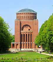 Picture of the Planetarium at the City Park (Stadtpark)